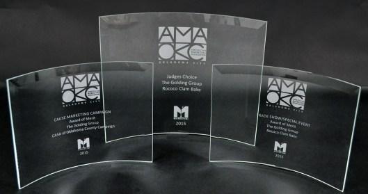 AMA 2015 Award Trio