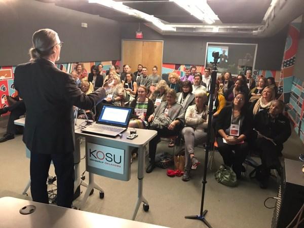 Kyle Golding Presenting At Oklahoma Arts Conference