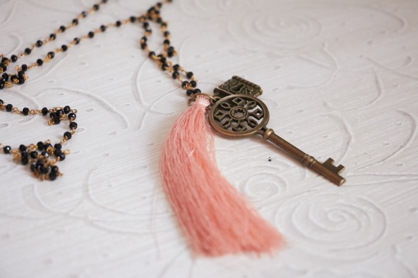 jewels pink key