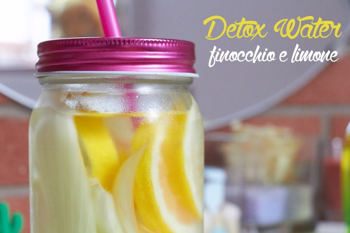 Detox Water Finocchio limone