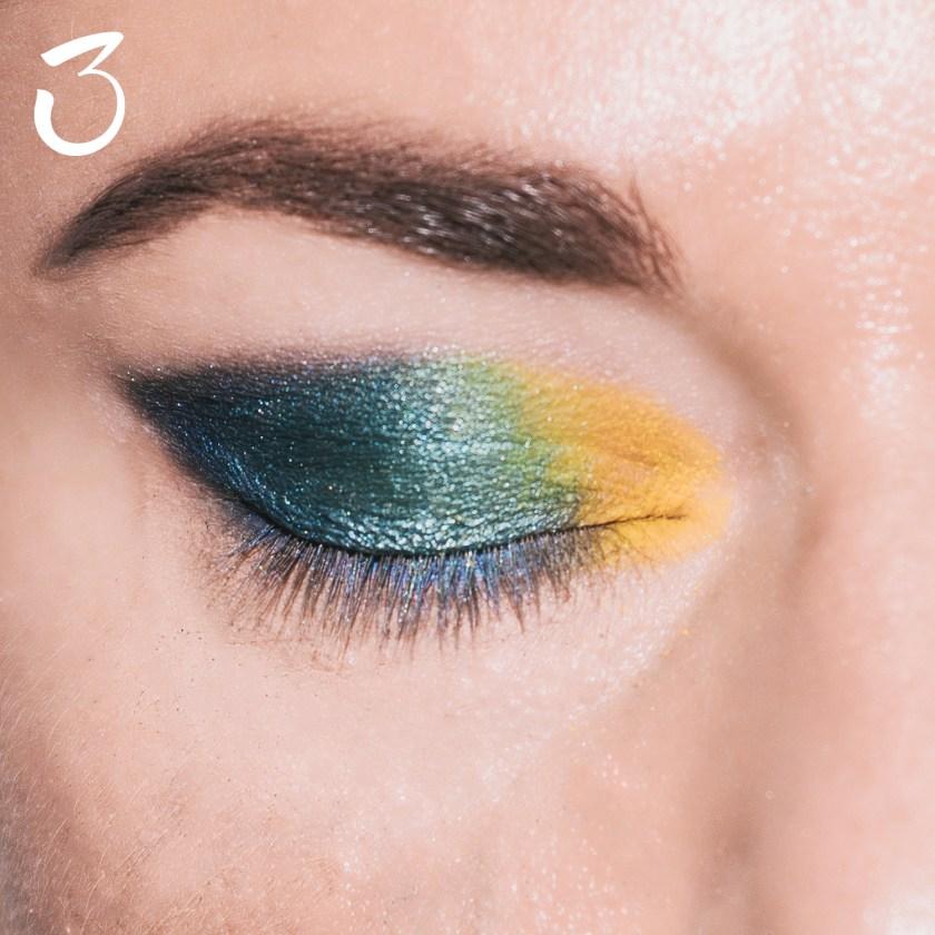Make Up pavone peacock 3 copia