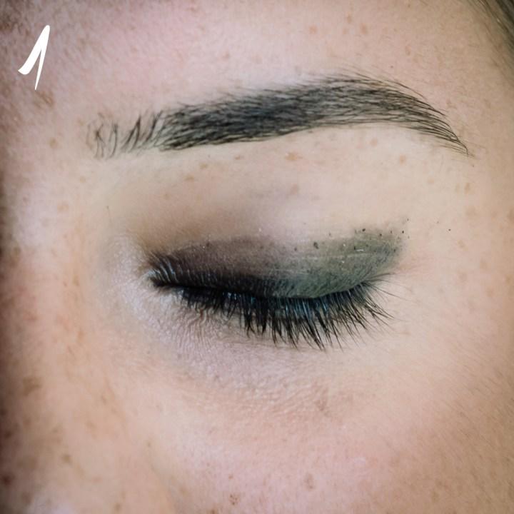 makeup nero grigio occhi sensibili 1