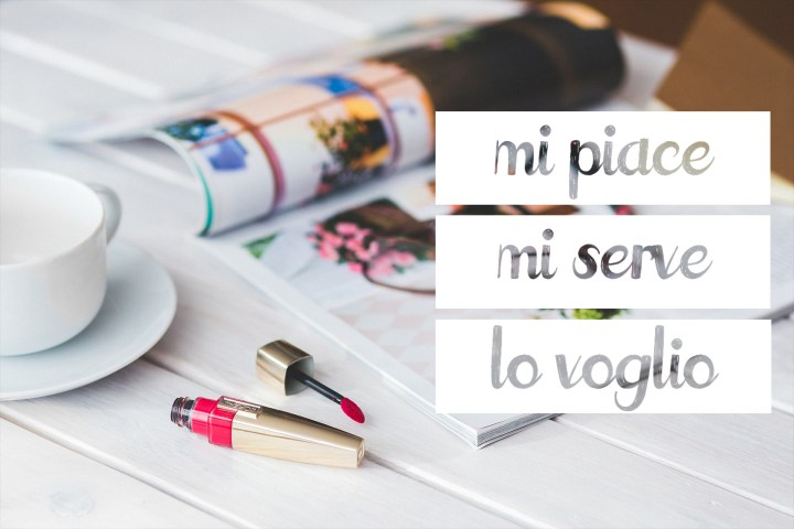 Mi piace, mi serve, lo voglio #1 • Beauty Shopping