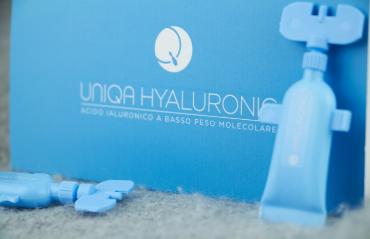 Uniqa Hyaluronic acido ialuronico prodotto monodose