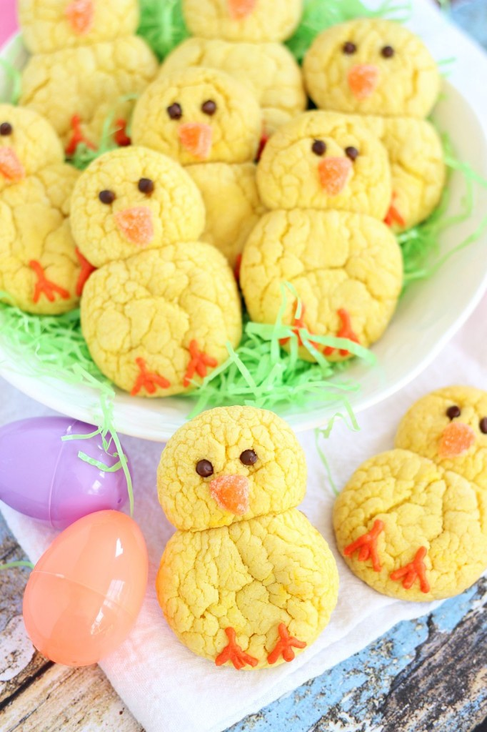 Easter Chick Cake Recipes