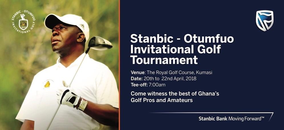 Stanbic-Otumfuo Invitational Golf Tourney  tees off at the RGC, Kumasi
