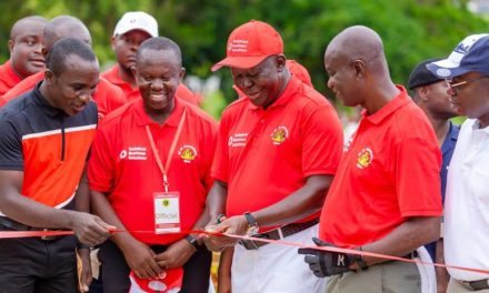 OTUMFUO OSEI TUTU II COMMISSIONS GOLF COURSE EQUIPMENT RECEIVED FROM MINISTRY OF YOUTH AND SPORTS