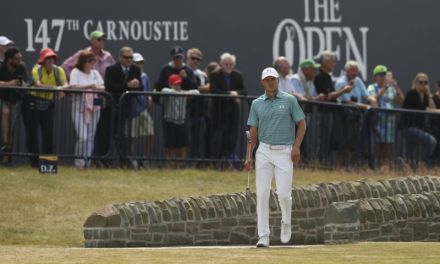 Spieth takes a stumble in his British Open title defense
