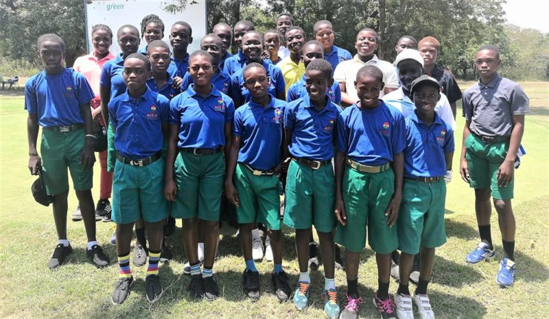 JUNIOR GOLFERS SHOW POTENTIAL AT GHANA OPEN