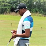 Vincent Torgah extends his lead to 12-under par after 54 Holes, leaving Olapade in the hunt