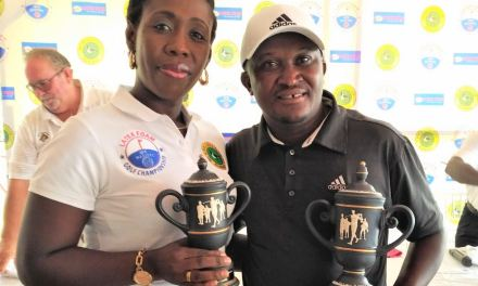 KOJO KYEI ENDS LONG WAIT FOR MASTERS AS ROOKIE CHRISTABEL OPPONG EDGES PAST ALL LADIES