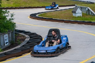 Go-Kart Racing at Golfin' Dolphin