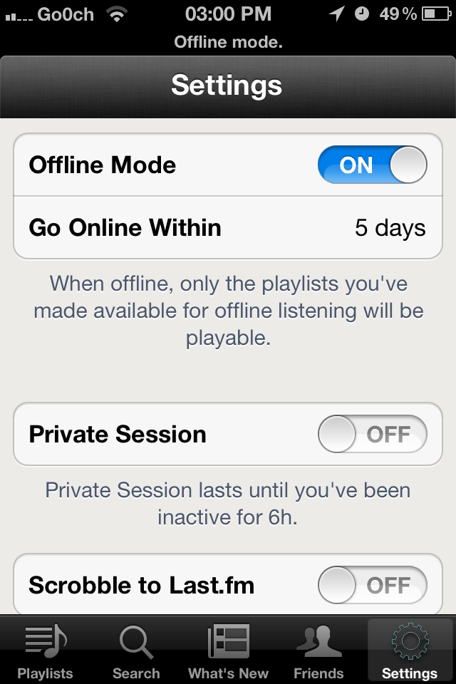 Free Spotify Premium on your iDevice... Kind of.