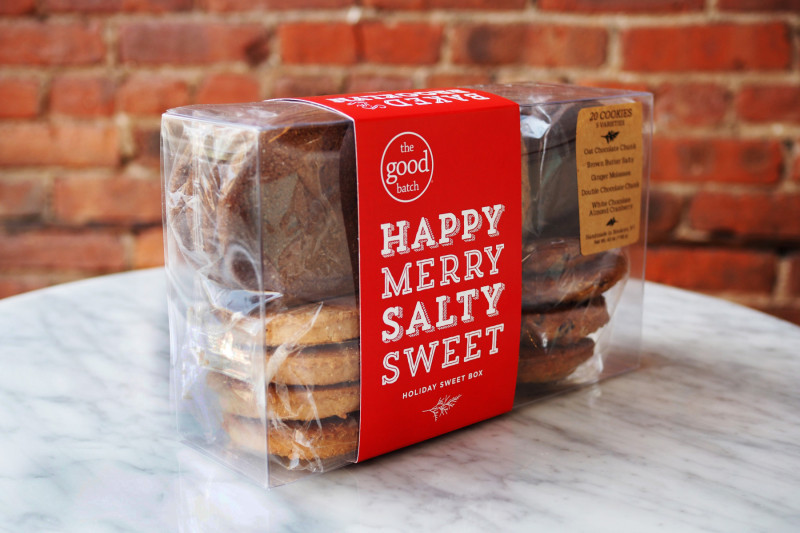 Happy Merry Salty Sweet Holiday Cookie Box