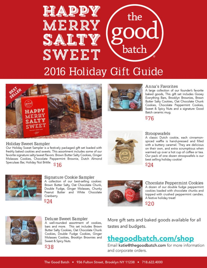 2016 holiday gift guide - the good batch