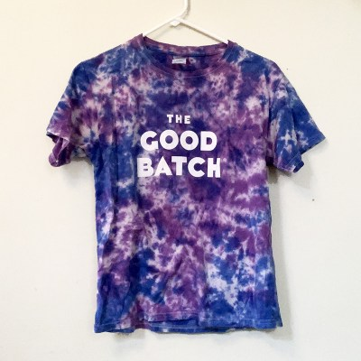 The Good Batch Tie Dye T-Shirt Bakery