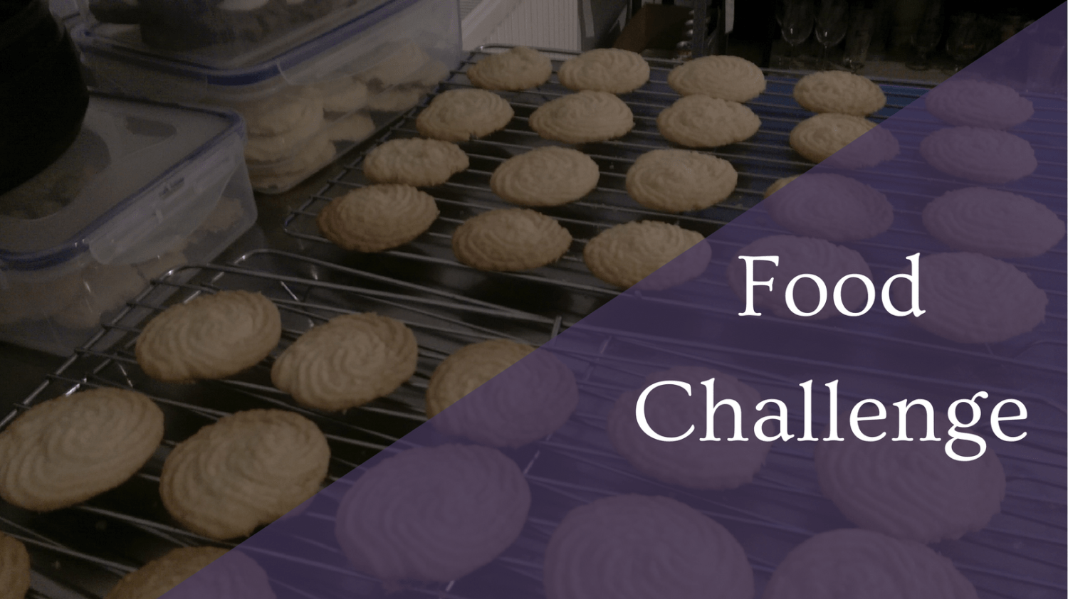 Featured Image - Food Challenge - GBBO Viennese Whirls