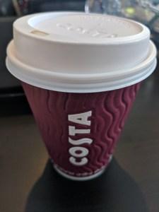 Costca Coffe Chai Latte - small cup