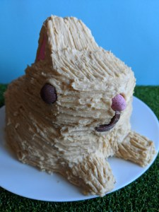 Bunny Cake - close up