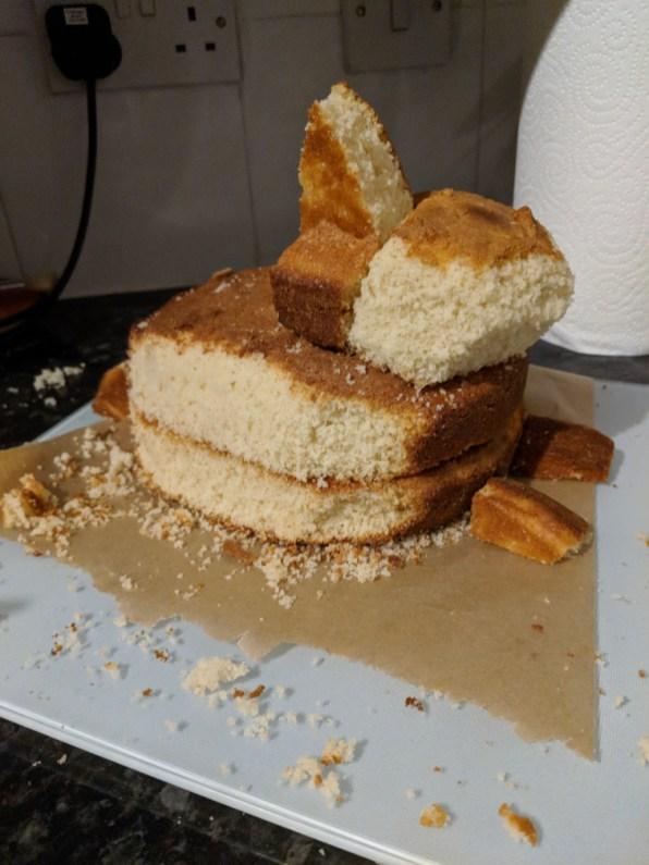 bunny cake - carved cake