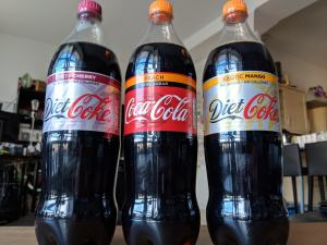 New coke flavours 2018 bottles