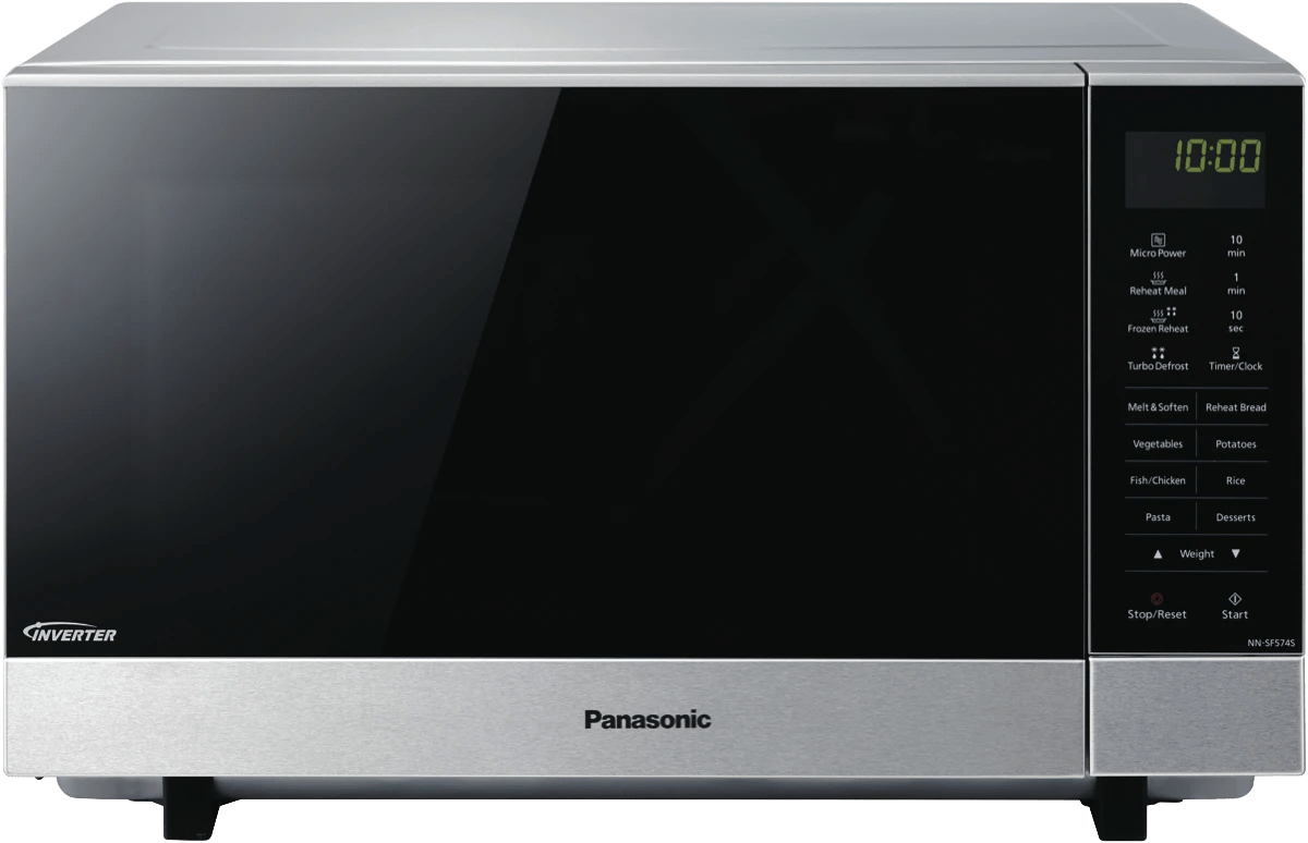 panasonic27l flatbed inverter microwave