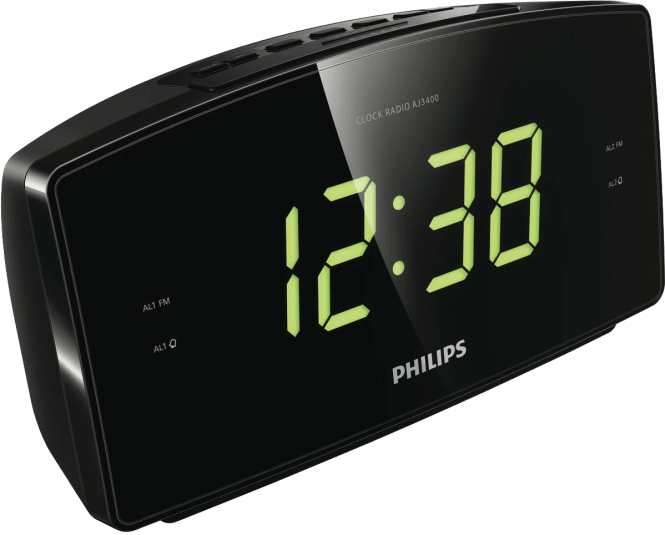 Aj3400 Large Display Alarm Clock