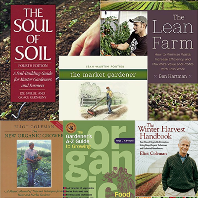 best books for organic vegetable production