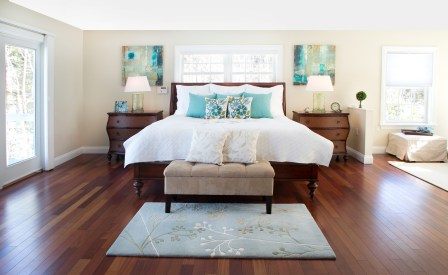 photo of Master Bedroom bed view