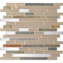 photo of glass/stone accent tile