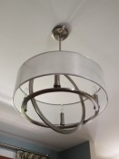 photo of dining room fixture