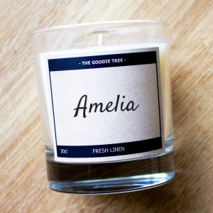 Name of your choice candle