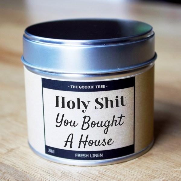 Tin Holy shit you bought a house tin