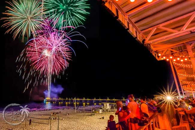 Okaloosa Island Boardwalk Fireworks