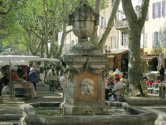 Cotignac-Fountain