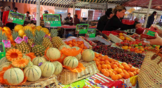 cours saleya Nice market