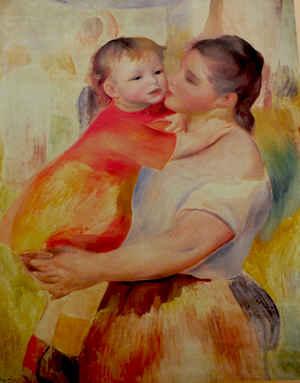 renoir painting of aline