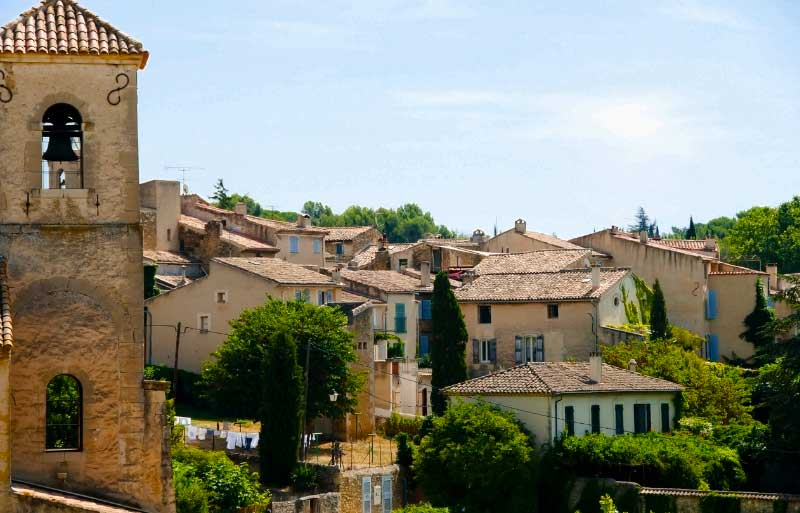Rooftops of Lourmarin