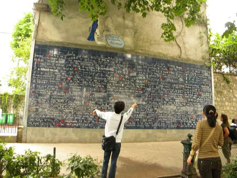 I Love you Wall Paris