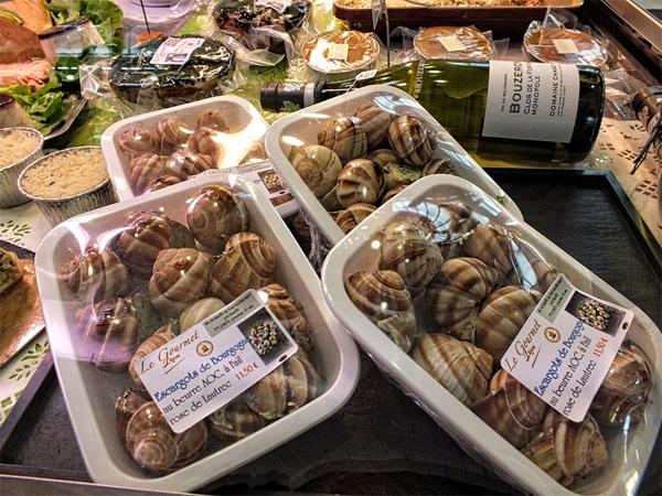 dijon market burgundy snails
