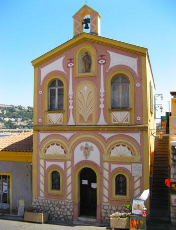 Villefranche-chapel