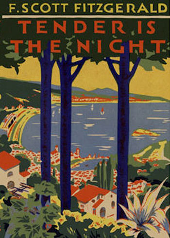 Poster for F Scott Fitzgerald's Tender is the Night shows the coast of Antibes