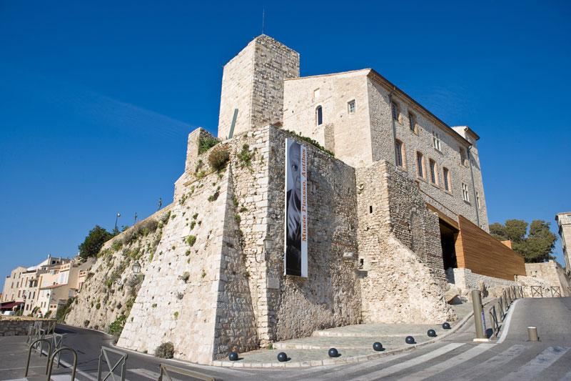 Picasso Museum in the former grand stone Chateau Grimaldi