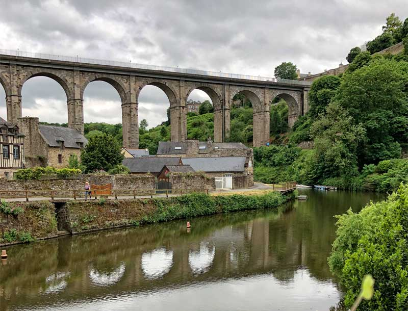 Viaduct across the River Rance, Dinan