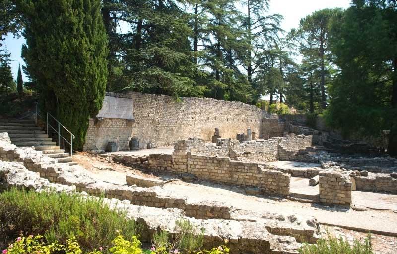 Roman ruins in Vaison-la-Romaine