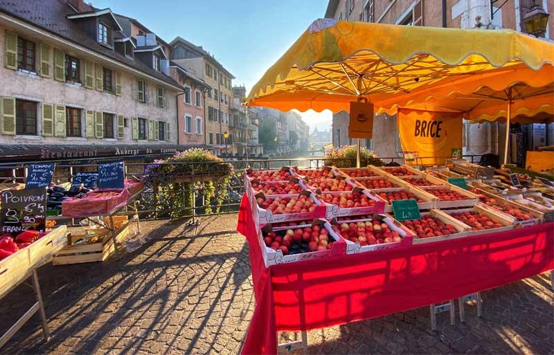 Market in France