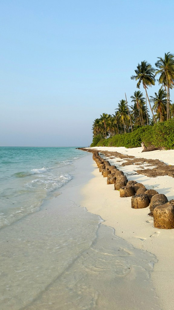 Sunset beach - Bangaram - Lakshadweep islands