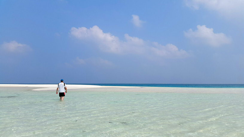 Beach Sandbar - Lakshadweep