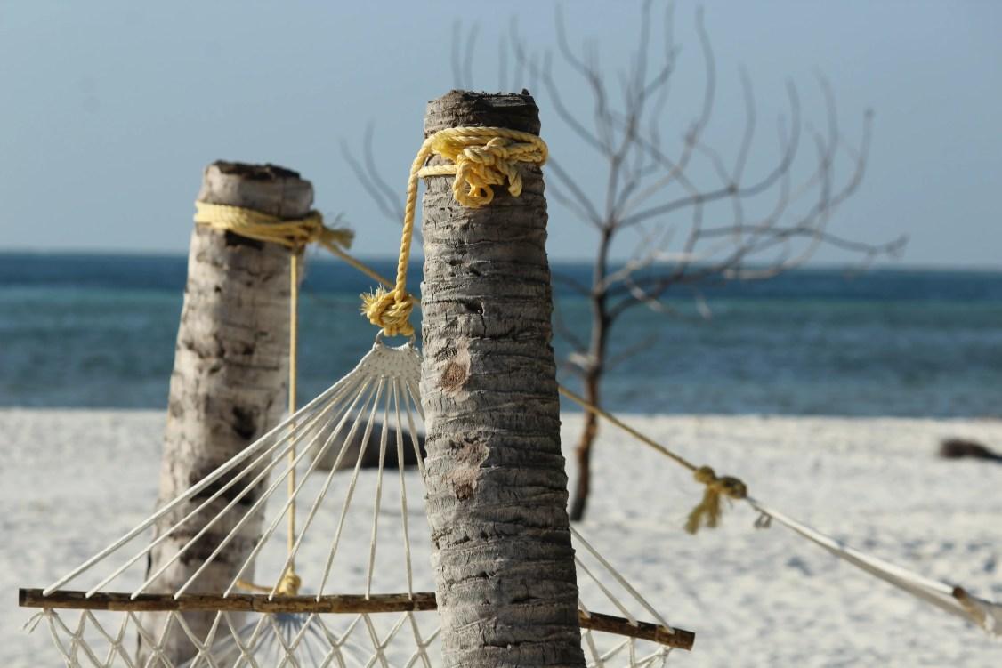Hammock on Thinnakara island - How to plan your Lakshadweep trip