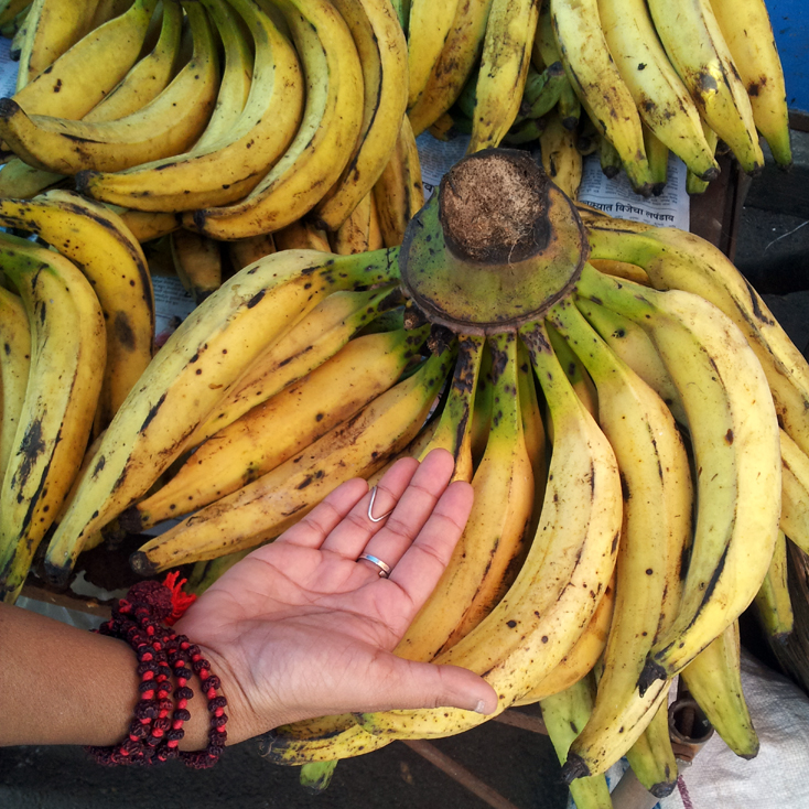 Bananas in Mapusa - An off-the-beaten-path Goan holiday